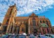 Saint Martin Church in Colmar in Alsace France