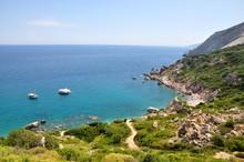 Skiathos Landscape Seascape Panoramatic View Of A Sea