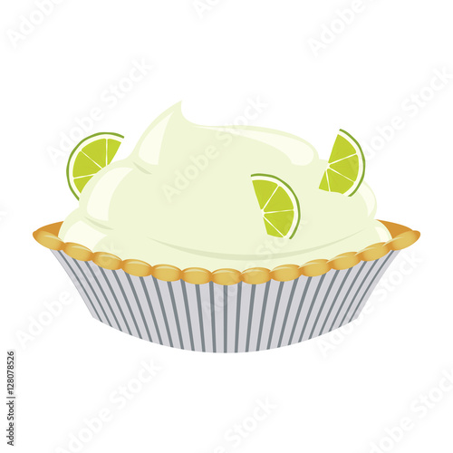 Obraz na plátne Lime cream pie
