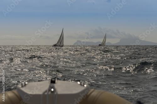 Fotografie, Obraz  Sailing competition