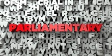 PARLIAMENTARY -  Red Text On T...