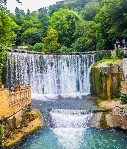Valokuva  Waterfall in New Athos, Abkhazia abkhazia