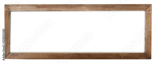 Obraz empty old wood frame - fototapety do salonu