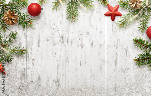 Christmas Background Free.White Christmas Background With Tree And Decorations Lights