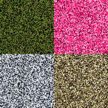 Set Of 4 Pixel Camouflage Patt...