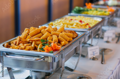 Essen Hochzeit Buffet Catering Buy This Stock Photo And Explore