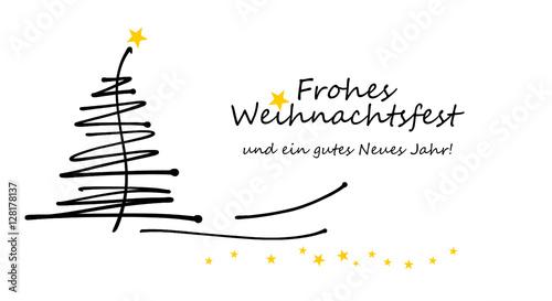 Frohe Weihnachten Und Schönes Neues Jahr.Weihnachtskarte Frohe Weihnachten Und Ein Gutes Neues Jahr Moderne