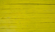 Yellow wooden plank table top