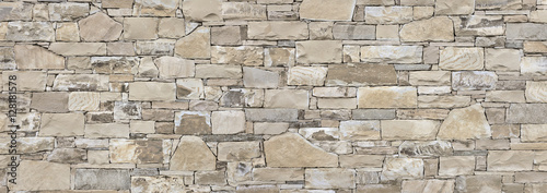 Natursteinmauer Fototapet