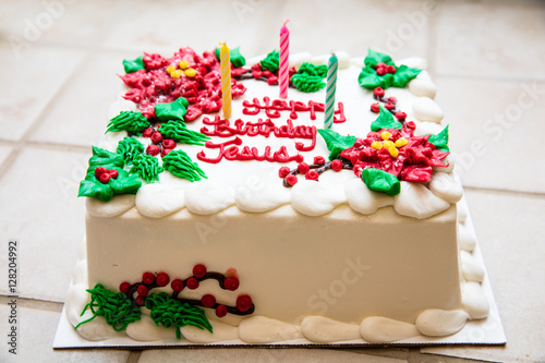 Excellent Christmas Cake Happy Birthday Jesus Buy This Stock Photo And Funny Birthday Cards Online Overcheapnameinfo