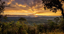 Sunset In Kondalilla National ...