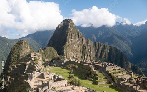 Spoed Foto op Canvas Zuid-Amerika land Machu Picchu, the ancient Inca city in the Andes, Cusco, Peru..