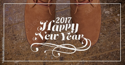 2017 new year wishes against chukka brown boots
