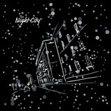 Night city street for your design