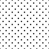 Mały czarny wzór wektor polka dot - 128235516