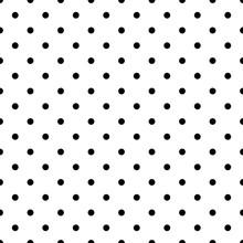 Small Polka Dot Black Seamless...