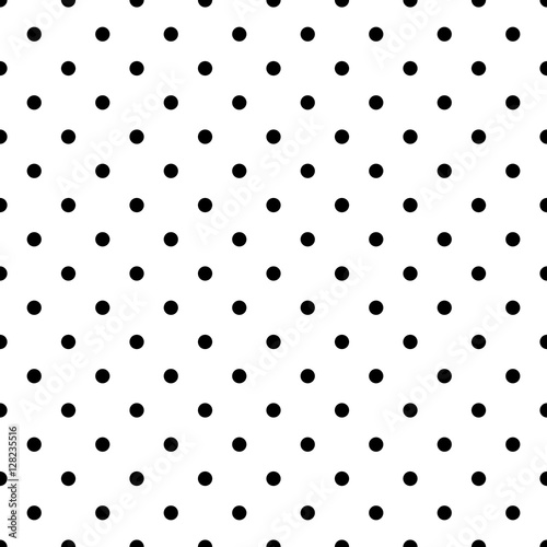 Tapety Kropki maly-czarny-wzor-polka-dot-v