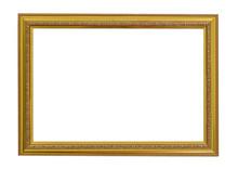 Gold Vintage Frame. Elegant Vi...