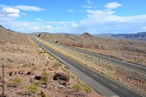 Valokuva  U.S. Route 93 in Nevada.