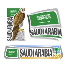 Vector Logo Saudi Arabia 3 Iso...