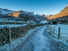 Great Langdale Is A Valley In The Lake District National Park In North West England, The Epithet Great Distinguishing It From The Neighbouring Valley Of Little Langdale