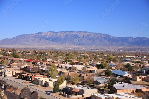village near Albuquerque Canvas Print