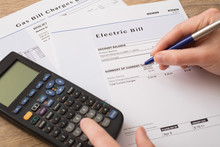 Electric Bill Charges Paper Fo...