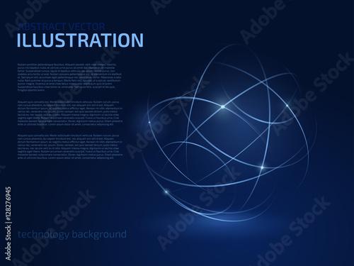 Fotografía  Abstract vector illustration