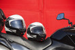 helmets and motorcycle