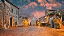 Sovana, Grosseto, Tuscany, Ita...