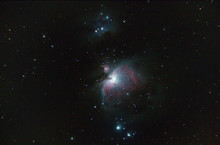 Orion Nebula Also Called Messier 42 Or M42 . Taken By My Telescope And Cared By Me In Post Production For Details And Quality.