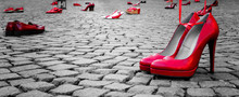 Red Shoes To Stop Violence Aga...