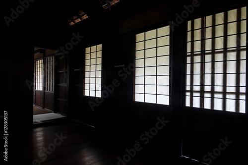 Wall Murals Martial arts 古民家の障子