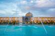 Moquée Sheikh Lotfollah sur la place Naqsh-e Jahan (place de l'Imam) à Ispahan, Iran.
