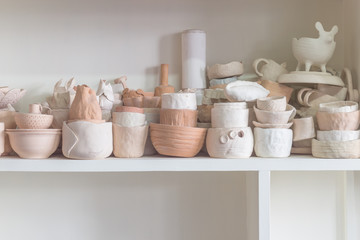Fototapeta na wymiar Handmade tradition porcelain product