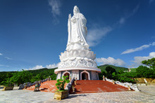 Majestic View Of The Lady Buddha (the Bodhisattva Of Mercy)