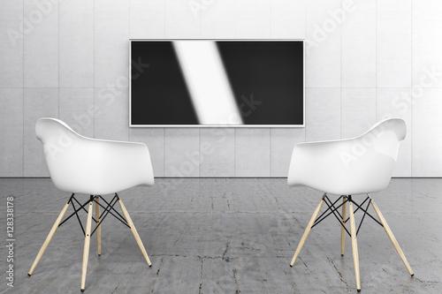 Heimkino Tv Sound Media Bildschirm Flat Einrichtung Design