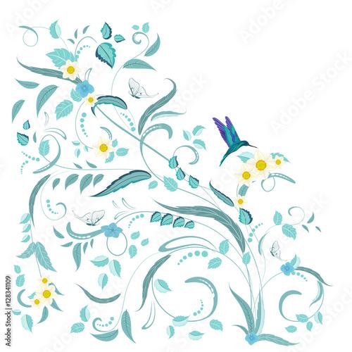 ilustracyjne-kwiaty-i-ptaki-na-bialym-tle