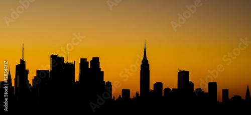 Fotomagnes Sunrise shot in Manhattan, New York