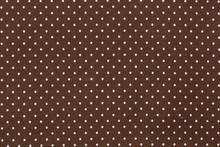 Brown Polka Dot Background.