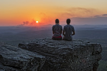 Sunset At Cheaha Overlook