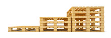 Stair Of Wooden Euro Pallets