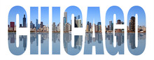 Chicago Skyline Letters