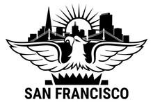 California. San Francisco. USA. Oakland Bay Bridge. San Francisco-Oakland Bay Bridge. San Francisco Business Center