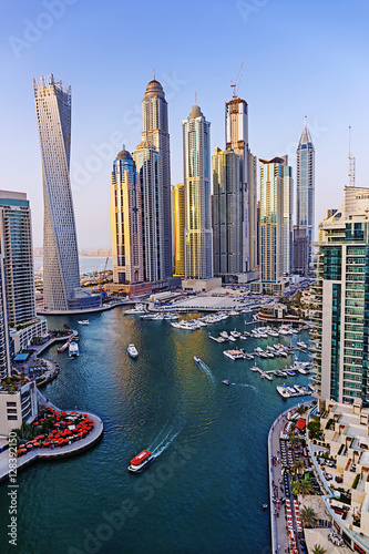 Recess Fitting Dubai Modern buildings in Dubai Marina UAE