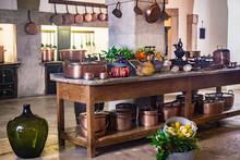 Kitchen Of Medieval Castle Cop...