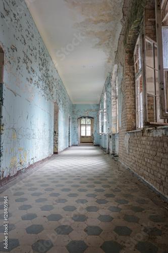 Spoed Fotobehang Oud Ziekenhuis Beelitz beelitz heilstätten