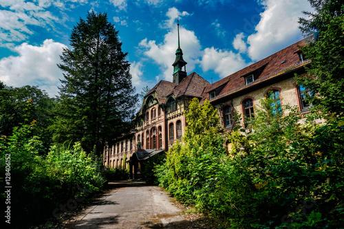 Photo sur Aluminium Ancien hôpital Beelitz beelitz heilstätten
