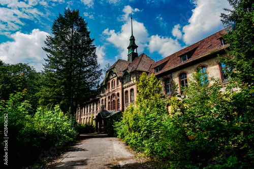 Photo sur Toile Ancien hôpital Beelitz beelitz heilstätten
