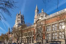 Vistoria And Albert Museum In Kensington